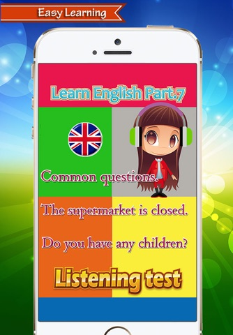 English Speak Conversation : Learn English Speaking  And Listening Test  Part 7 screenshot 1