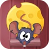 Piggy Mouse-Gravity Effect Game& Amazing moon Thief:Catch The Cheese