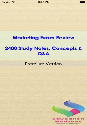 marketing exam 3 For this sample examination remember: these test questions will not appear on future examinations so your performance.