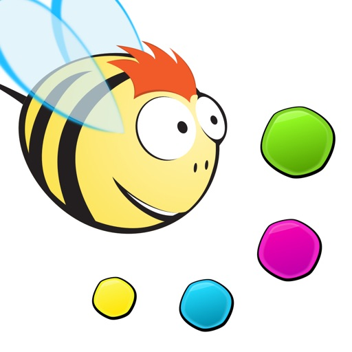 Peppy Bee Free for Kids - A lightning-fast Adventure iOS App