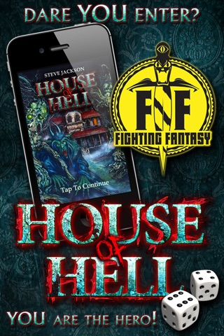 Fighting Fantasy: House of Hell screenshot 1
