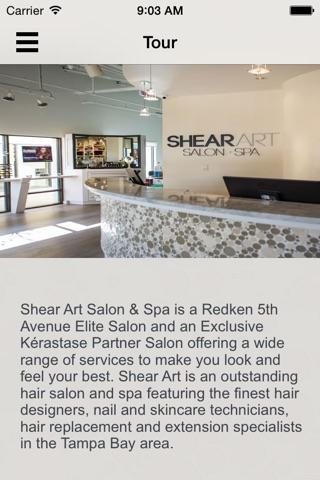 Shear Art Salon and Spa screenshot 1
