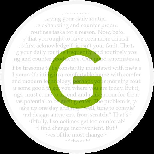 Glorium - a contextual lorem ipsum generator