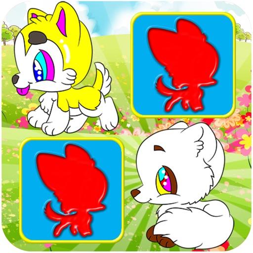 Puppy Preschool Educational Matching Little Dog Games for Kids iOS App