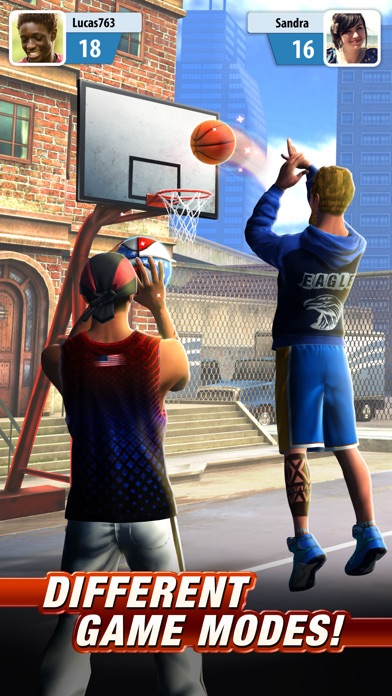 Screenshots of Basketball Stars™ for iPhone