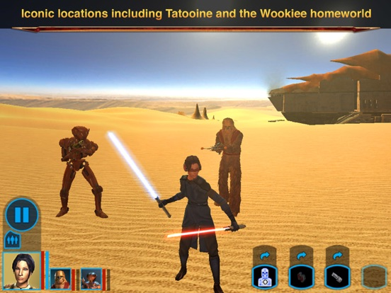 Screenshot #4 for Star Wars®: Knights of the Old Republic™