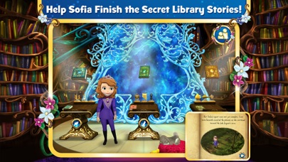 Sofia the First: The Secret Library Screenshot