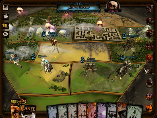 Reiner Knizia's The Confrontation Screenshot