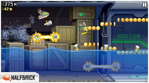 Screenshot #12 for Jetpack Joyride