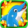 Dolphin Casino Paradise Slots: Play and win gold coins and secret prizes