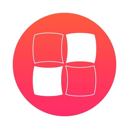 方形单元花耀斑的钩法图解