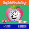 Learning english vocabulary reading and listening for kids for time