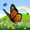 Kleurplaat vlinder! - Kleurplaten voor kleuters - spelletjes voor kinderen - apps voor kinderen - vlinders te kleuren