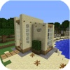House Detail for Minecraft Pocket Edition - Step-by-Step Blueprints