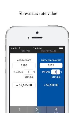 Whats the Sales Tax? USA LITE screenshot 2