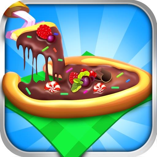 Pizza Dessert Maker Salon - Candy Food Cooking & Cake Making Kids Games for Girl Boy! iOS App
