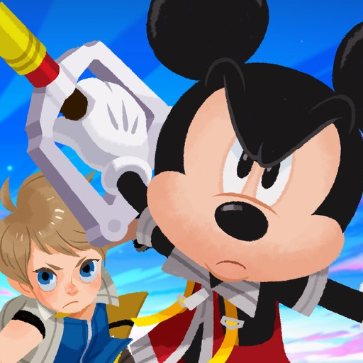 Download KINGDOM HEARTS Unchained χ free for iPhone, iPod and iPad