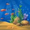 Fisch World Match Tiere - Spiel Angeln für Familie