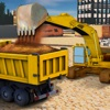 Sand Excavator Construction 3D - Real Trucker and Crane Parking Game