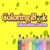 Coloring Book Ecudation Game For Kids - SpongeBob Version
