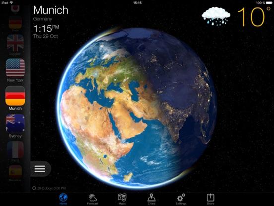 Погода для iPad в России Скриншоты2