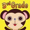 Splash Monkey Math School Free Games for 3rd Grade Kids