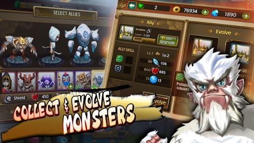 Immortal Legends - TD Screenshot