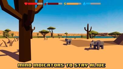Screenshot von Afrikanisch Kunst Überleben Simulator 3D4