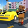 Pixel City: Crime Car Theft Race 3D