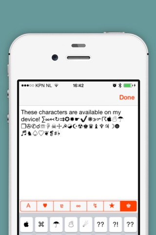 Characters >> 500+ symbols screenshot 2