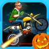 Monster Stunt Death Rider: Fast Moto-X Race in Horror Night PRO