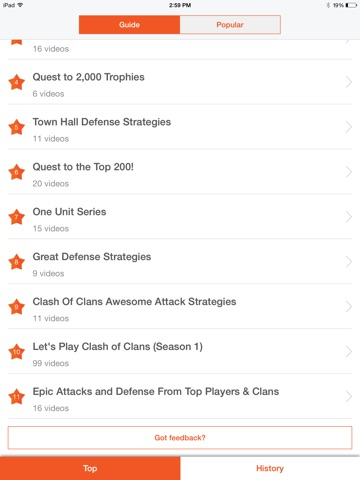 Screenshots of Free Gems Cheats For Clash of Clans, COC Guide for iPad