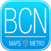 Barcelona Travel Guide with Metro Map and Route Planner Navigator
