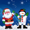 Christmas camera --- take photo with Santa Claus