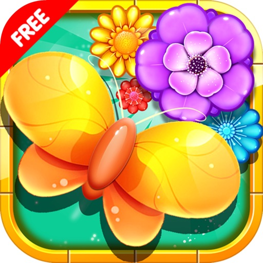 Boom Match 3 Flowers - Garden Linking Flowers iOS App