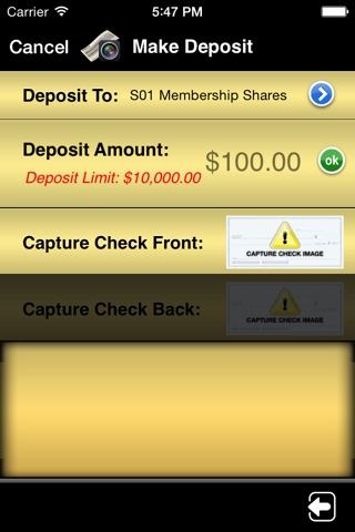 SELCO Community Credit Union Mobile screenshot 4