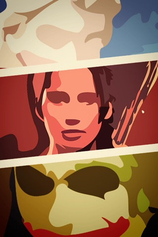 Guess The Movies Characters – puzzles drawn in watercolors style with emoji secrets! screenshot 1