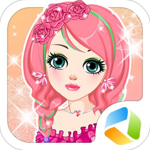 公主发型设计 - 女孩子的美发换装物语,女生小游戏大全