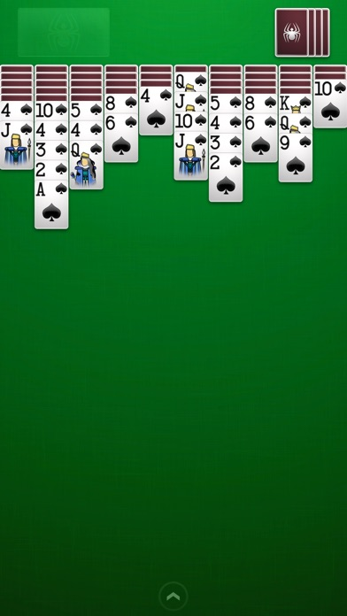 Screenshots of ⋆Spider Solitaire for iPhone