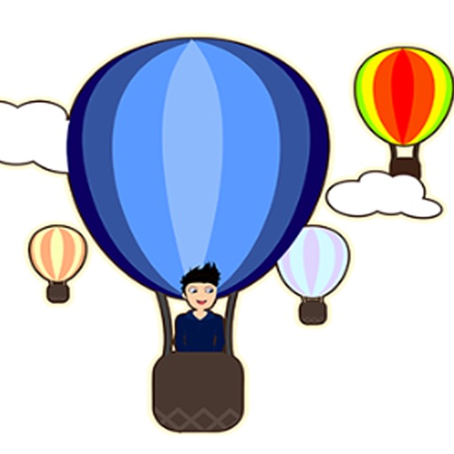Hot Air Balloons Coloring Book for Kids iOS App
