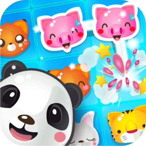 Puzzle Pop Link Animals iOS App