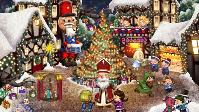 Screenshot of Babbo Natale per Bambini  App -  Xmas World2