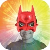 Insta Super Hero Mask -  Change Your Face with Superhero Stickers