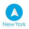 ニューヨーク旅行者のためのガイドアプリ 距離と方向ナビのPilot(パイロット)