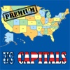 U.S. State Capitals Quiz Premium Version - Learn the names and locations of the United States Capitals Trivia Game