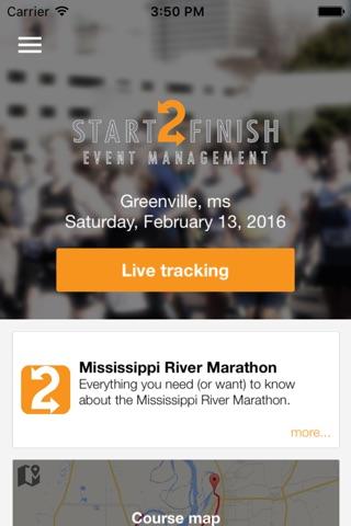 Start2Finish Events screenshot 2