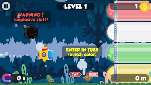 Little Rainbow Submarine Screenshot