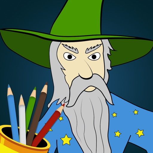 Kids Sketch Paint Buddy - new kids digital painting book iOS App