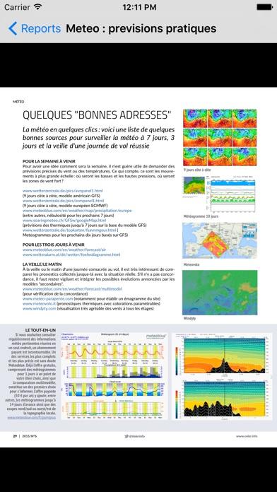 voler.info II magazine parapente paramoteurCapture d'écran de 4
