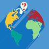 QuestiOn Map: Países de Europa, del mundo y de los EE.UU. Un juego de mapas.